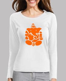 t-shirt da donna elefante indù