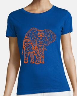t-shirt da donna elefante stamkid