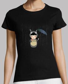 t-shirt da donna kokeshi totoro