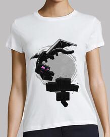 t-shirt da donna minecraft
