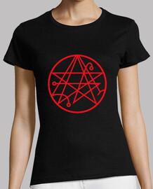 t-shirt da donna necronomicon