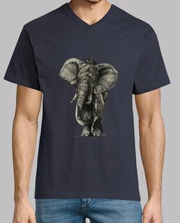 t-shirt da king elefante