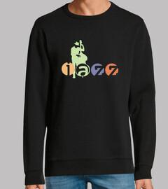 t-shirt da musicista jazz