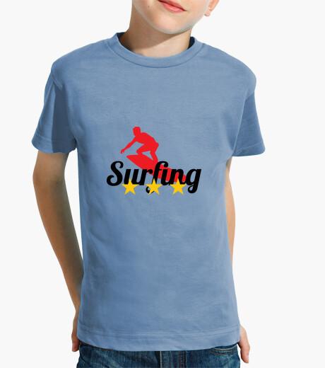 Abbigliamento bambino t-shirt da surf - beach - sole