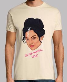t-shirt da uomo - fiori lola - se voglio di andare
