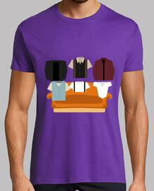 t-shirt da uomo - gli amici: il one dove all ebbe inizio