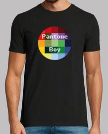 t-shirt da uomo boy pantone
