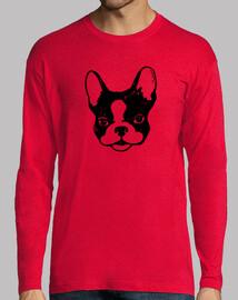 t-shirt da uomo bulldog francese