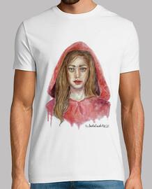 t-shirt da uomo cappuccetto rosso