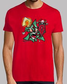 t-shirt da uomo chaky horda