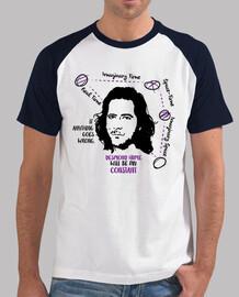 t-shirt da uomo desmond hume (sfondo chiaro)