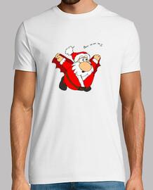 t-shirt da uomo di santa vampiro