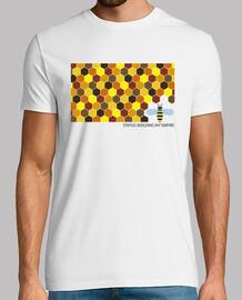 t-shirt da uomo di stato: building il mio empire