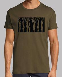 t-shirt da uomo donne-alberi