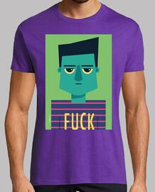 t-shirt da uomo fuck (vari modelli e colori)