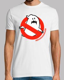 t-shirt da uomo il fantasma di em