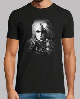 t-shirt da uomo jaina b & n