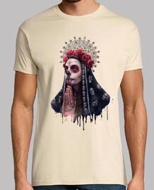 t-shirt da uomo la catrina t-shirt da uomo