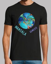 t-shirt da uomo mandala genesis