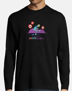 t-shirt da uomo manica lunga da t-shirt da uomo zombie
