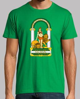 t-shirt da uomo mano di andalusia
