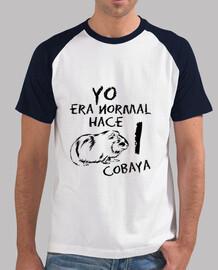 t-shirt da uomo mi era normale fa 1 cobaya