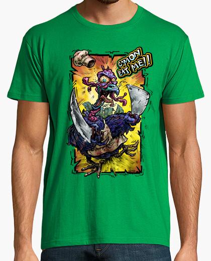 T-shirt da uomo natale crazy tacchino...