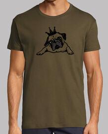 t-shirt da uomo pug