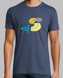 t-shirt da uomo razzi kawaii
