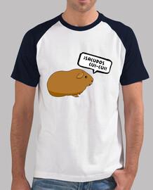 t-shirt da uomo saluti cui-cui! bicolor