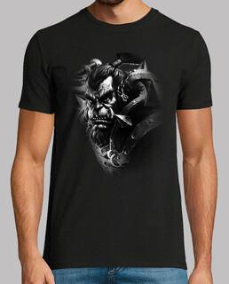 t-shirt da uomo thrall b & n