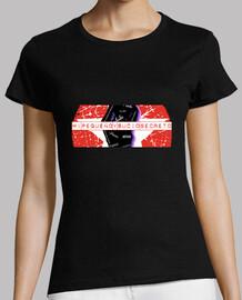 t-shirt dame pleine étoile noire