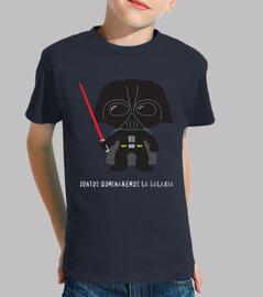 t-shirt darth vader bambini