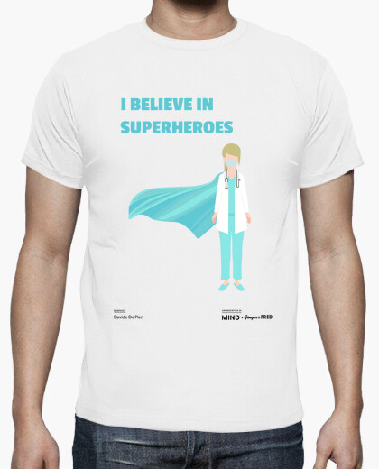 T-shirt Davide De Pieri - Superhero