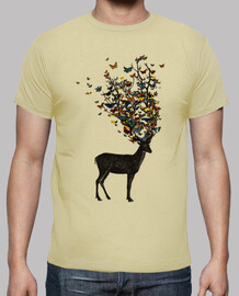 t-shirt de la nature sauvage