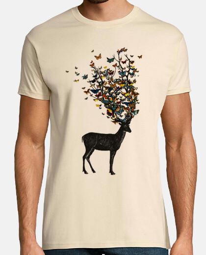 t-shirt de la nature sauvage