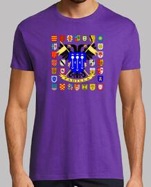 T-shirt de type manteau de famille de padilla