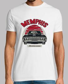 t-shirt de voiture classique memphis tennessee