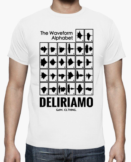 T-shirt DELIRIAMO CLOTHING (GdM118)