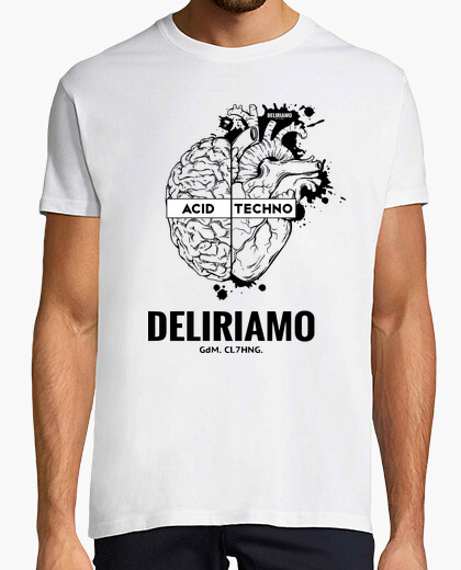 T-shirt DELIRIAMO CLOTHING (GdM123)