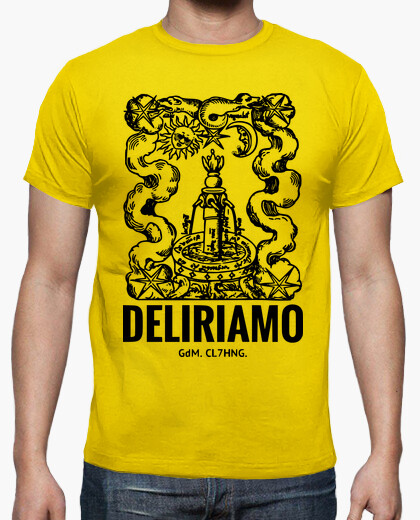 T-shirt DELIRIAMO CLOTHING (GdM54)
