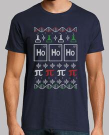 t-shirt di christmas scienza
