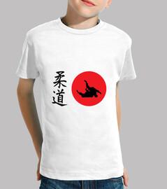 t-shirt di judo - arte marziale - sport