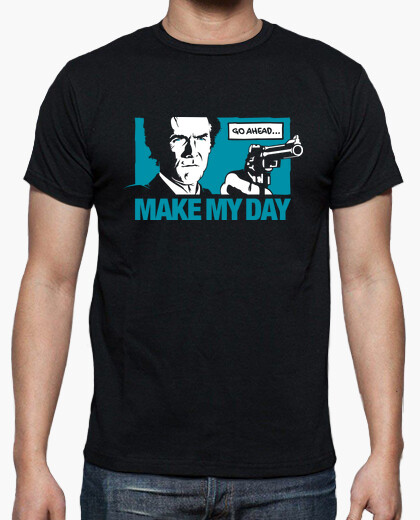 T-shirt Dirty Harry: Make my Day