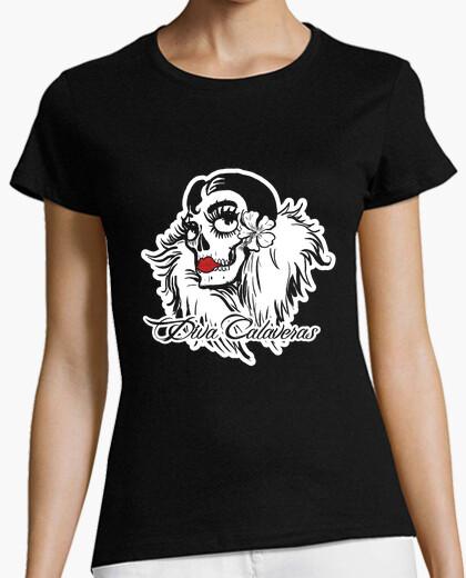 T-shirt Diva Calaveras