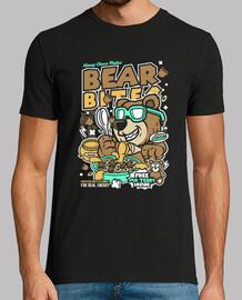 t-shirt divertente giovanile orso dei cartoni animati