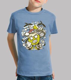 t-shirt divertente musica di cocco t-shirt divertente cartoni animati