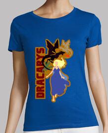 t-shirt donna - dracarys
