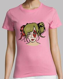 t-shirt donna - harley quinn