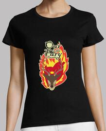 t-shirt donna - la nostra è la cavalluccio